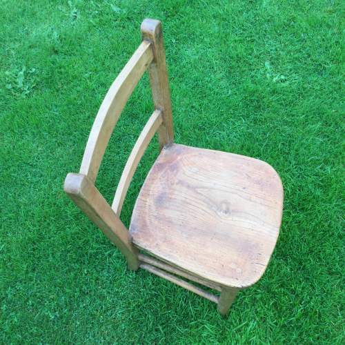 Childs Rustic Elm Chair image-5