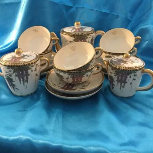 Japanese Taischo Period Tea Set image-5