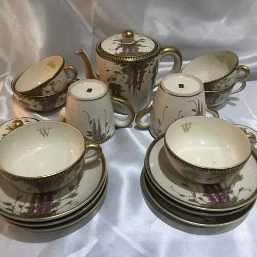 Japanese Taischo Period Tea Set image-1