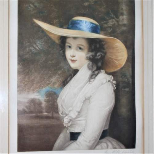 P H Martindale - Signed Print of a Society Lady image-3
