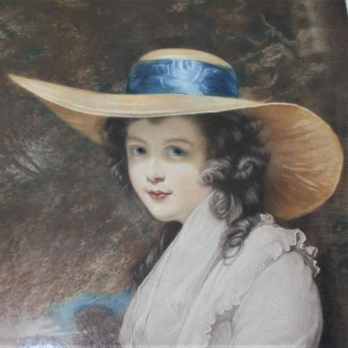 P H Martindale - Signed Print of a Society Lady image-5