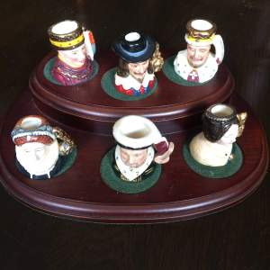 Rare Royal Doulton Set of Kings and Queens of the Realm