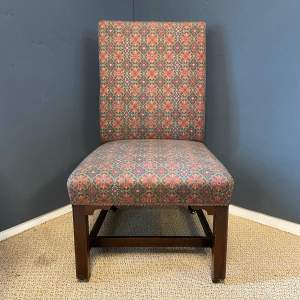 18th Century Open Low Chair