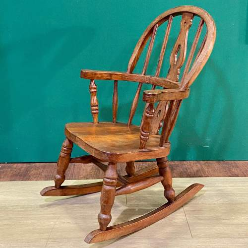 Childs Windsor Rocking Chair image-1