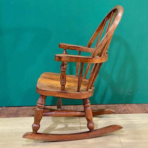 Childs Windsor Rocking Chair image-2