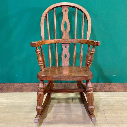 Childs Windsor Rocking Chair image-3