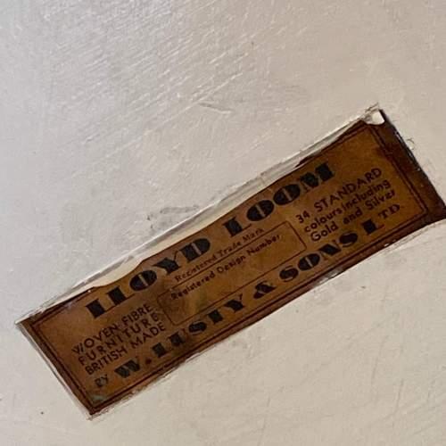 Lloyd Loom Vintage Linen Hamper image-4