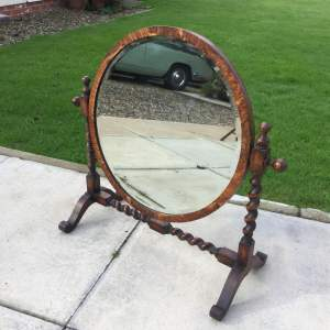 Victorian Barleytwist Dressing Table Mirror