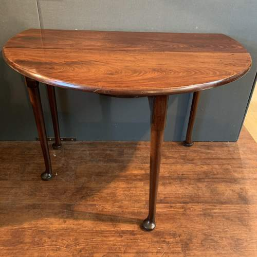 Georgian Mahogany Drop Leaf Dining Table image-3