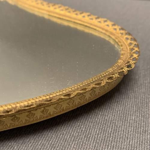 19th Century French Gilt Mirror Tray image-3