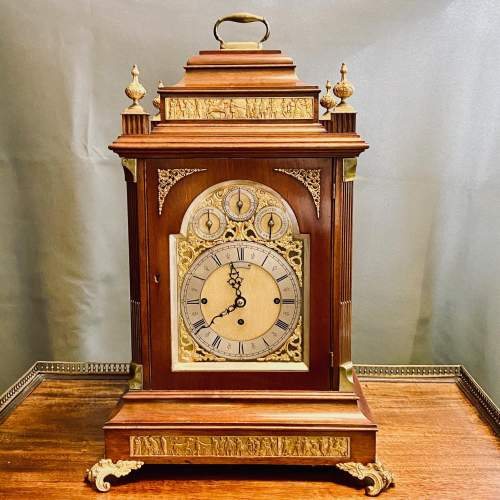 Large Boardroom Clock by Mappin and Webb image-1