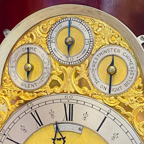 Large Boardroom Clock by Mappin and Webb image-6