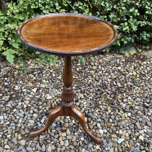 Small Mahogany Wine Table image-1