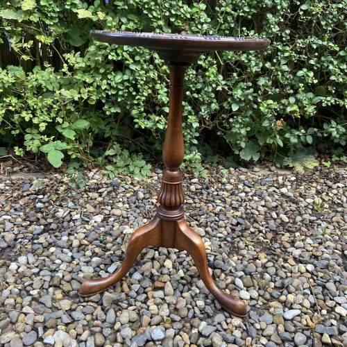 Small Mahogany Wine Table image-2
