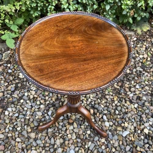 Small Mahogany Wine Table image-3