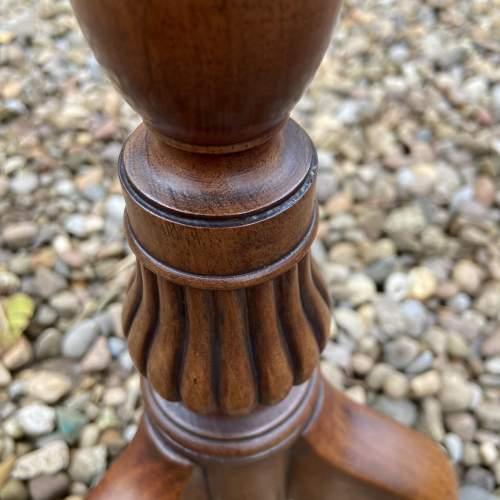 Small Mahogany Wine Table image-6