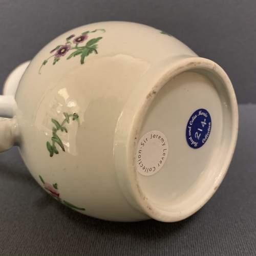 1st Period Worcester Coffee Pot Circa 1765 image-6