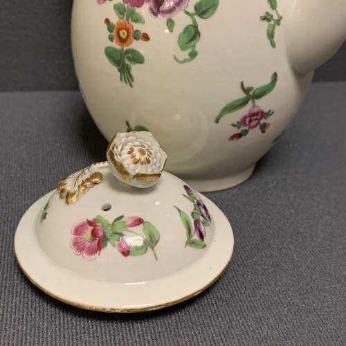 1st Period Worcester Coffee Pot Circa 1765 image-3