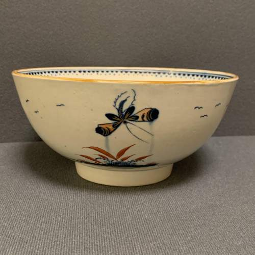 Rare Worcester Painted Bowl image-2