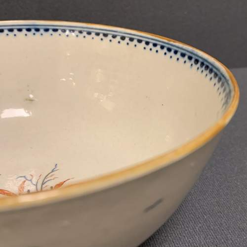 Rare Worcester Painted Bowl image-3