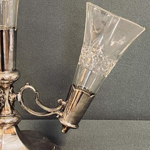 Walker and Hall Cut Glass and Silver Plated Epergne image-6