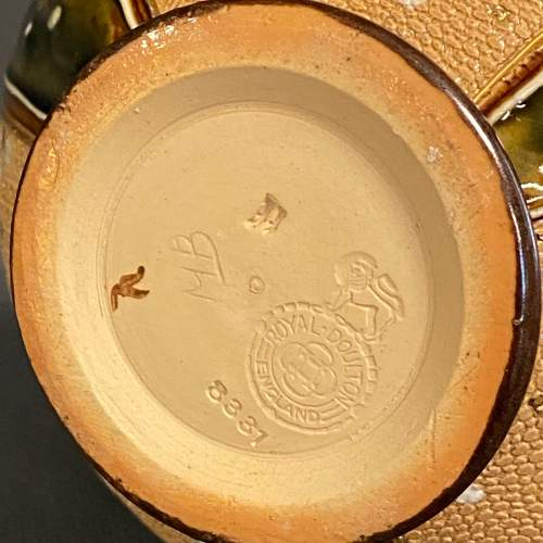 Pair of Royal Doulton Stoneware Vases image-6