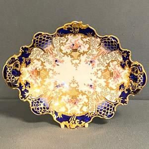 Royal Crown Derby 19th Century Bon Bon Dish