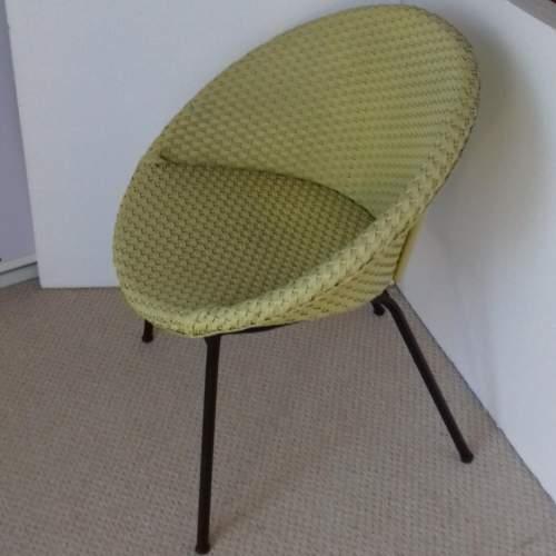 Yellow Lloyd Loom Lusty Satellite Chair image-2