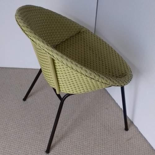 Yellow Lloyd Loom Lusty Satellite Chair image-3