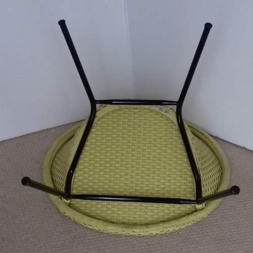 Yellow Lloyd Loom Lusty Satellite Chair image-4