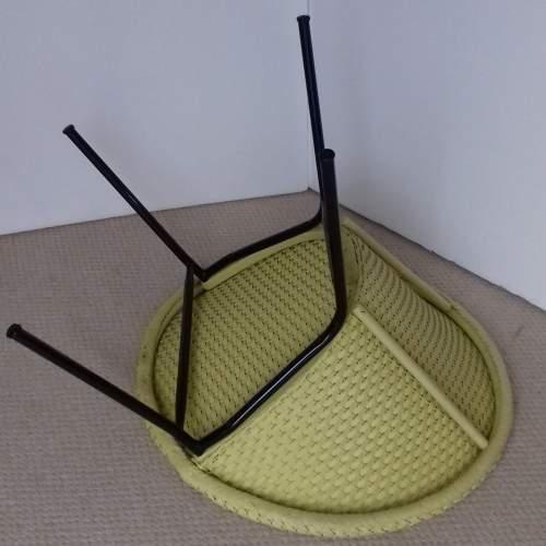 Yellow Lloyd Loom Lusty Satellite Chair image-5