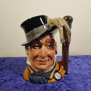 Royal Doulton Mr Micawber Character Jug