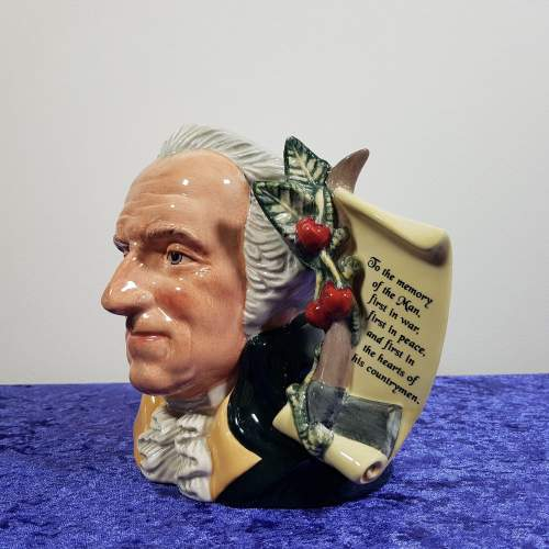 Royal Doulton George Washington Character Jug image-2