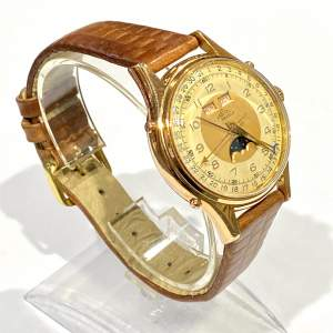 Solix Fine Quality 1960s Gents Calendar Wrist Watch