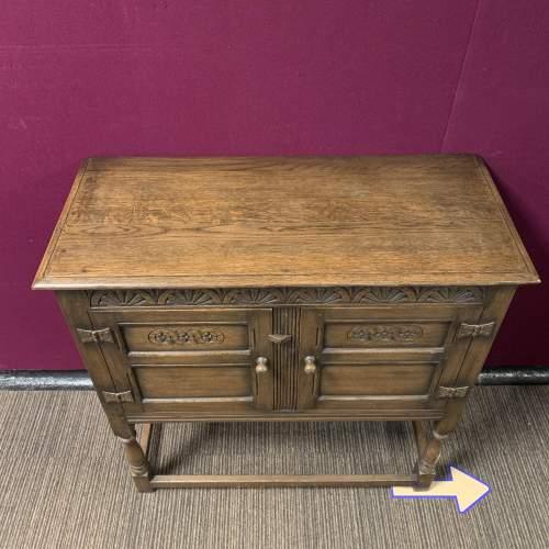 Ipswich Oak Dresser Base Circa 1900 image-6