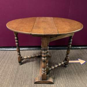 19th Century Gateleg Dining Table