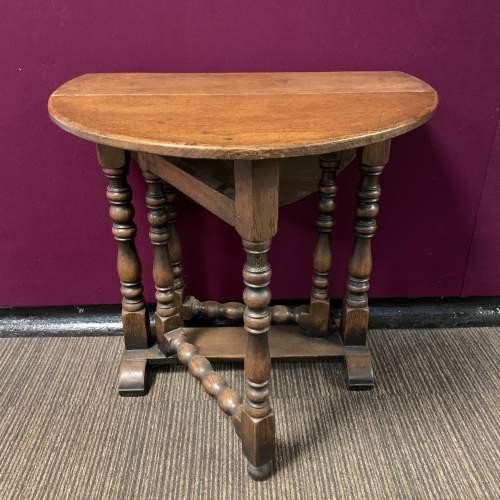 19th Century Gateleg Dining Table image-2