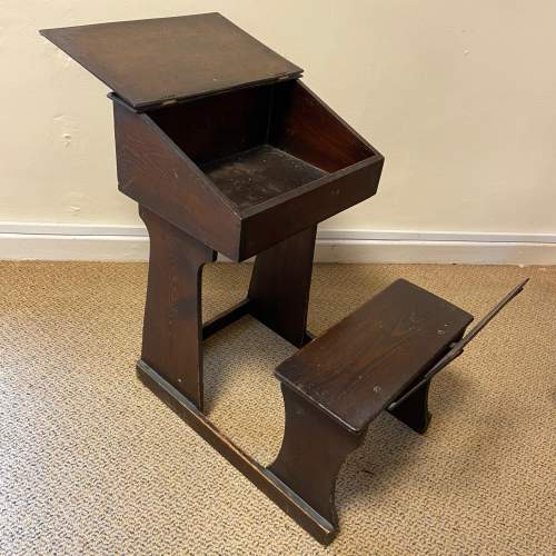 Early 20th Century Childs Pine Desk image-3