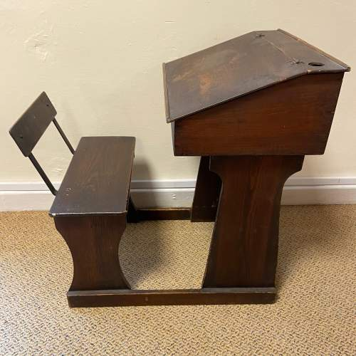 Early 20th Century Childs Pine Desk image-2