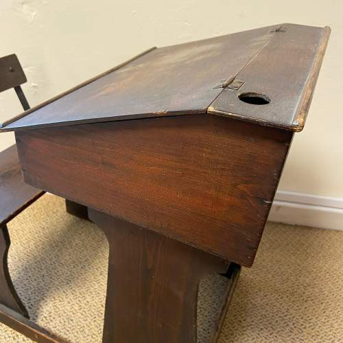 Early 20th Century Childs Pine Desk image-5