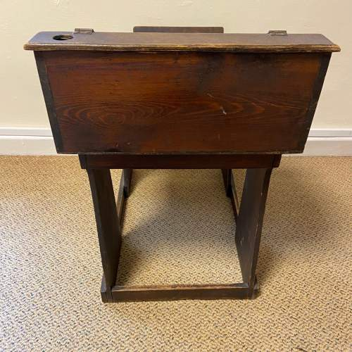 Early 20th Century Childs Pine Desk image-4