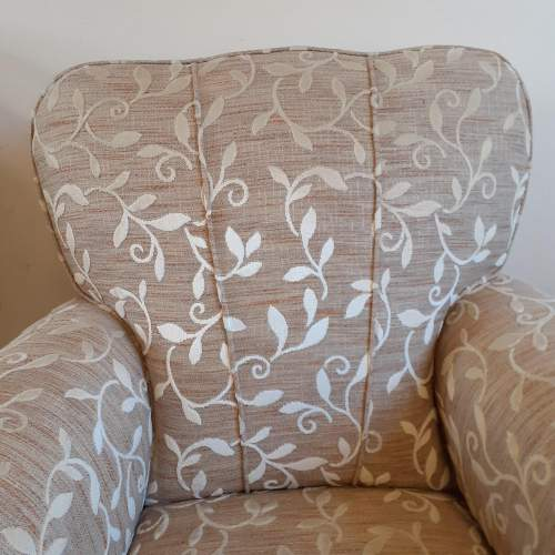 Pair of Art Deco Upholstered Club Chairs image-5