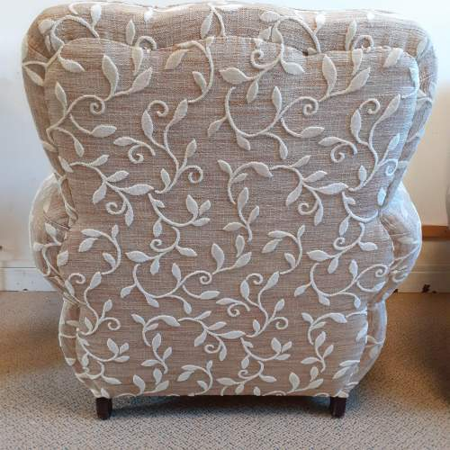 Pair of Art Deco Upholstered Club Chairs image-6