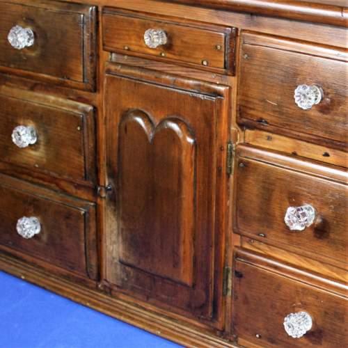 19th Century Miniature Pine Dresser image-3