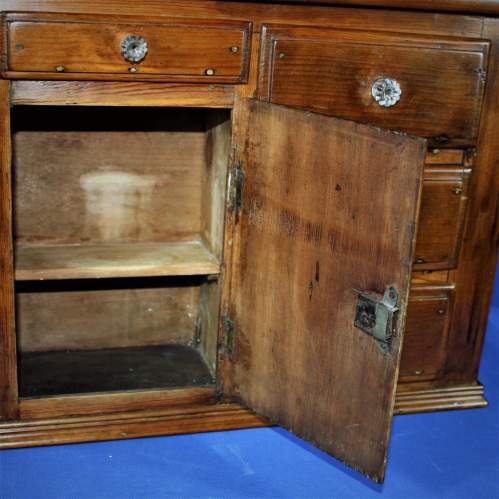 19th Century Miniature Pine Dresser image-5