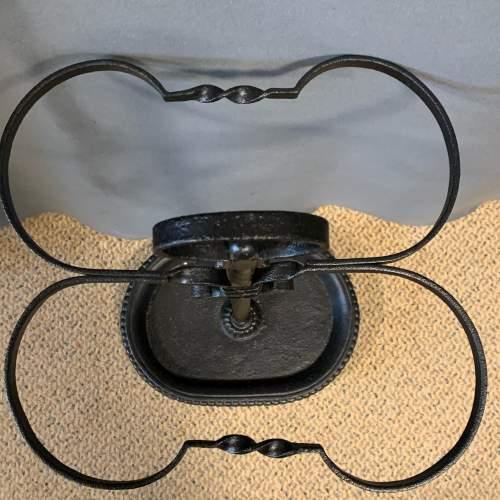 Black Iron Handmade Stick Stand image-4