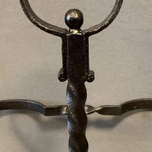 Black Iron Handmade Stick Stand image-6