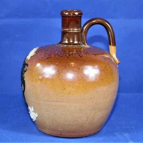 Doulton Lambeth Stoneware Highland Whisky Bottle image-2