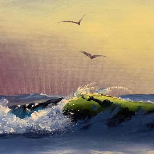 Seascape Painting by Roy Lang image-3