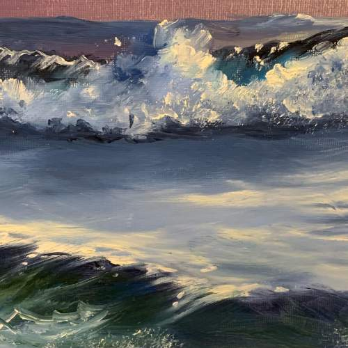 Seascape Painting by Roy Lang image-4